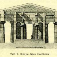 Фиг. 5. Пестум. Храм Посейдона