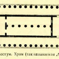 """Фиг. 9. Пестум. Храм (так называемая """"базилика"""")"""