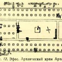 Фиг. 12. Эфес. Архаический храм Артемиды