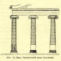 Фиг. 13. Эфес. Архаический храм Артемиды