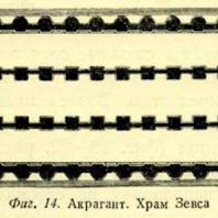 Фиг. 14. Акрагант. Храм Зевса