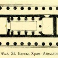Фиг. 25. Бассы. Храм Аполлона