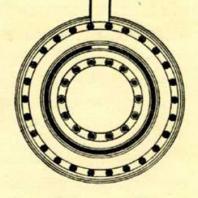 Фиг. 35. Эпидавр. Круглый храм