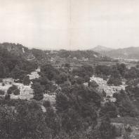 Олимпия. Общий вид на Альтис и долину Алфея с западной стороны. Фото: Анджей Дзевановский