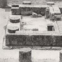 Олимпия. Герайон. Вид пронаоса с северной стороны. Фото: Анджей Дзевановский