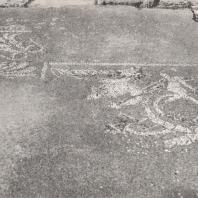 Олимпия. Храм Зевса. Мозаика. Фото: Анджей Дзевановский