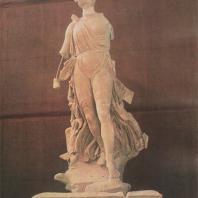 Статуя Ники. Скульптор Пэоний, ок. 420 г. до н.э. Музей в Олимпии. Фото: Анджей Дзевановский