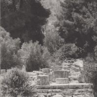 Олимпия. Руины храма Зевса, вид с северной стороны Альтиса. Фото: Анджей Дзевановский