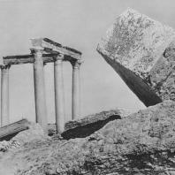 Пальмира. Развалины северо-западного квартала города, II век