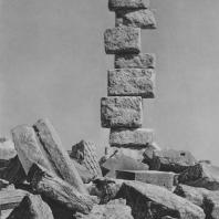 Пальмира. Развалины западного конца Большой колоннады
