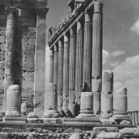 Пальмира. Святилище Бела, I век. Северо-восточная угловая часть целлы храма