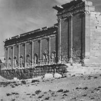 Пальмира. Северо-западная угловая часть округи святилища Бела, I век