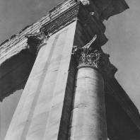Пальмира. Западная угловая часть целлы храма Бела, I век