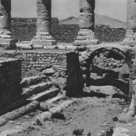 Пальмира. Рампа для животных, приносимых в жертву при храме Бела, I век