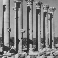 Пальмира. Южная колоннада храма Бела, II век