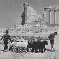 Пальмира. Округа храма Бела, вид с запада, II век