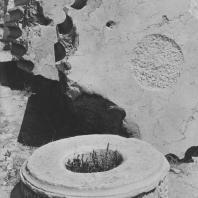 Пальмира. Барабаны разрушенных колонн храма Бела, I век