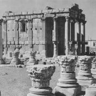 Пальмира. Храм Баальшамина, вид с севера, II век