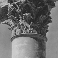 Пальмира. Капитель колонны Большой колоннады, III век