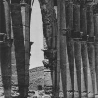 Пальмира. Западная часть Большой колоннады, II век