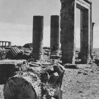 Пальмира. Развалины храма Аллат в западном квартале города, I век