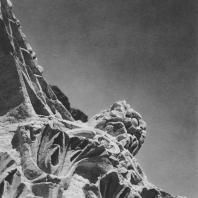 Пальмира. Угловая часть коринфской капители из так называемого Храма знамён, III век