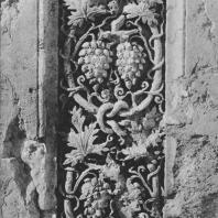 Пальмира. Фрагмент архитектурной декорации (виноградная лоза) из так называемого Храма знамён, III век