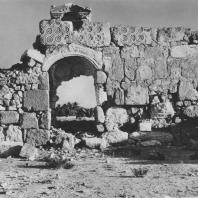 Пальмира. Руины арабского замка