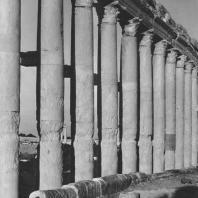 Пальмира. Канализационные трубы эпохи Юстиниана у Большой колоннады