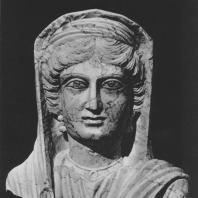Пальмира. Портрет женщины середины II века. Польские археологические раскопки