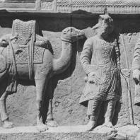 Пальмира. Рельеф мегариста, начало III века. Польские археологические раскопки 1960 г.