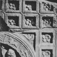 Пальмира. Фрагмент зодиака, конец I века. Польские археологические раскопки 1961 г.