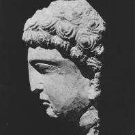 Пальмира. Голова юноши, конец II века. Польские археологические раскопки