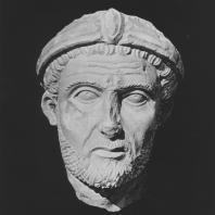 Пальмира. Голова сановника, середина III века, Польские археологические раскопки