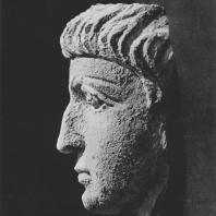 Пальмира. Портрет мужчины, начало I века. Польские археологические раскопки 1961 г.