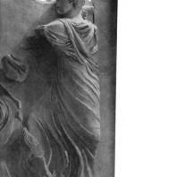 Алтарь Зевса в Пергаме. Южная сторона большого фриза. Гелиос, бог солнца, на квадриге