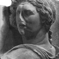 Алтарь Зевса в Пергаме. Южная сторона большого фриза. Гелиос (деталь)