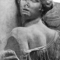 Алтарь Зевса в Пергаме. Южная сторона большого фриза. Эос (деталь)