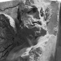 Алтарь Зевса в Пергаме. Южная сторона большого фриза. Гигант — противник Фойбе (деталь)