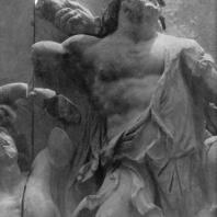 Алтарь Зевса в Пергаме. Левое крыло большого фриза. Океан — олицетворение мирового моря