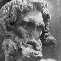 Алтарь Зевса в Пергаме. Левое крыло большого фриза. Нерей (деталь)